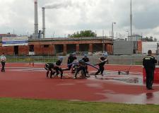 Krajské kolo soutěže v požárním sportu v Plzni - 22.6.2019