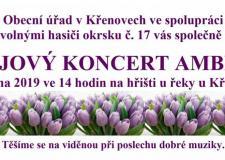 Májový koncert Ambito - 1.5.2019