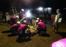 Noční hasičské závody v Horním Metelsku - 20.7.2019